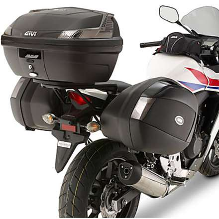 side suitcase rack HONDA CB500 F - CBR500 R 13-14 Givi