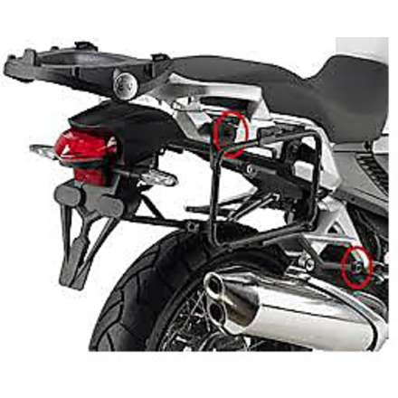 side suitcase rack  HONDA CROSSTOURER 1200  12 Givi