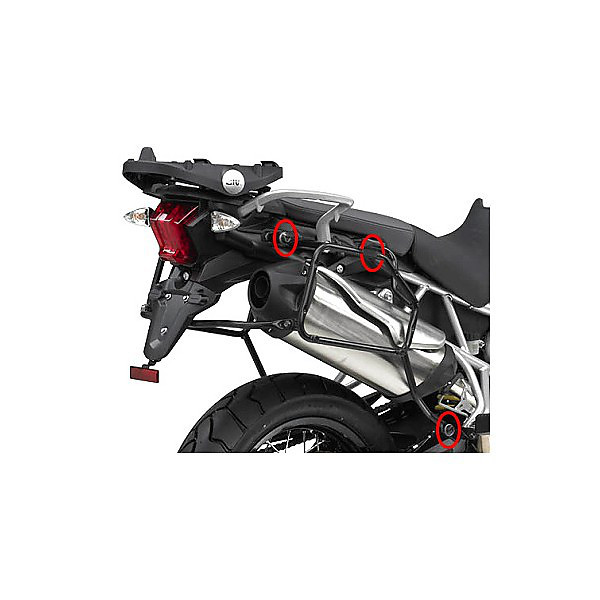 side suitcase rack  TRIUMPH TIGER 1200 EXPLORER Givi