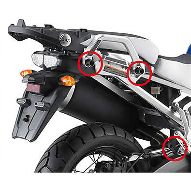 side suitcase rack YAMAHA XT1200 SUPERTENERE' 10-12 Givi