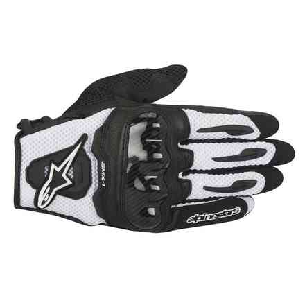 SMX-1 Air  black-white Gloves  Alpinestars