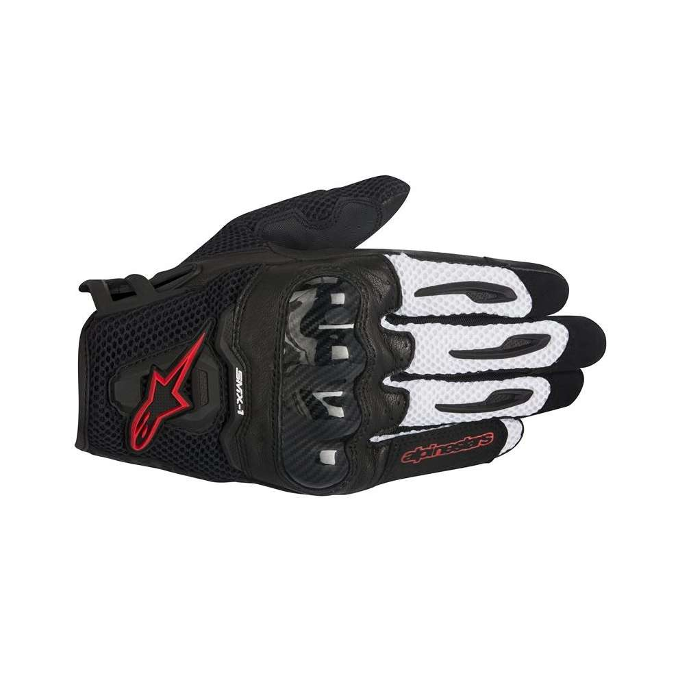 SMX-1 Air  black-white-red Gloves  Alpinestars