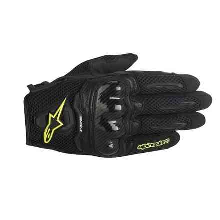SMX-1 Air  black-yellow fluo Gloves  Alpinestars