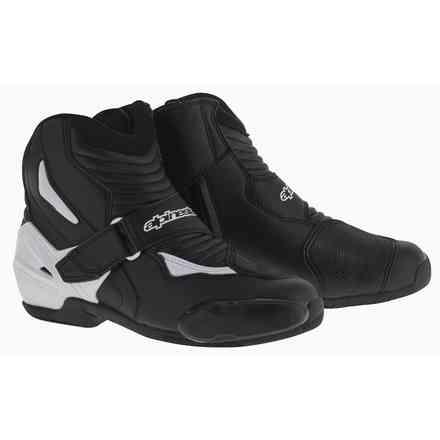 Smx-1 R black-white Shoes Alpinestars