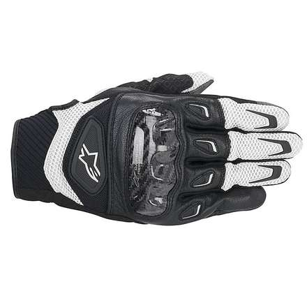 SMX-2 Air Carbon Gloves black-white Alpinestars