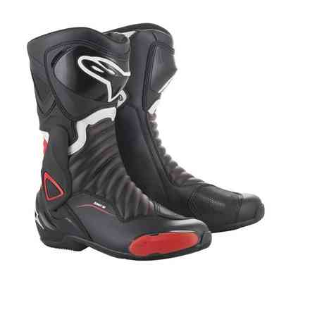 Smx-6 V2 boots black red Alpinestars