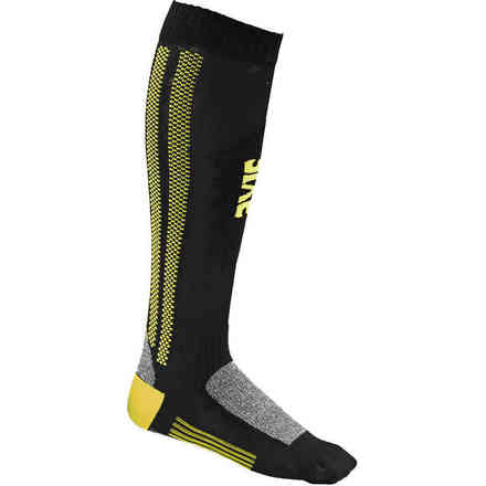 Socks  Mot S yellow fluo Sixs