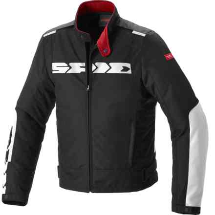 Solar H2out jacket black white Spidi