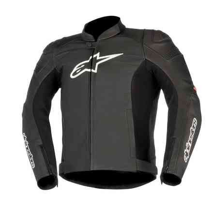 Sp-1 Airflow black red Lether Jacket Alpinestars
