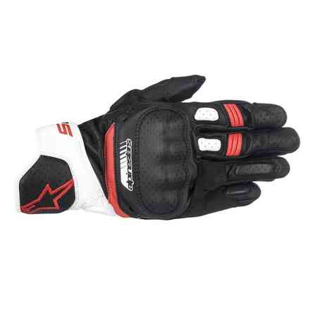 Sp-5 Gloves black white red  Alpinestars