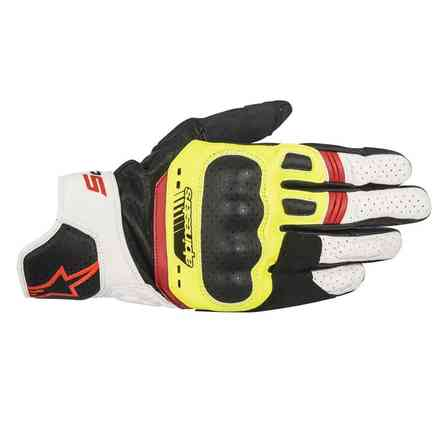 Sp-5 Gloves black yellow white red Alpinestars
