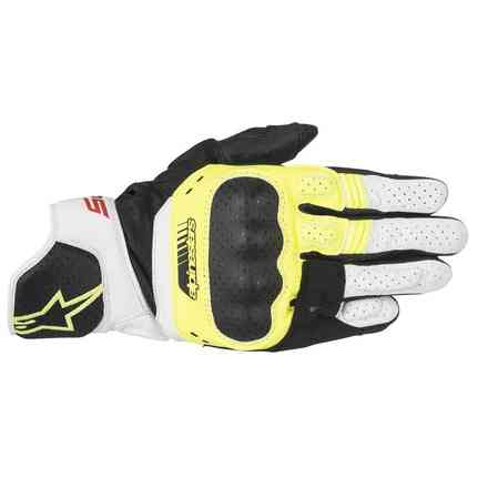 Sp-5 Gloves black yellow white Alpinestars