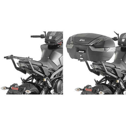Specific rear mount for Yamaha Mt-09 '17 Givi