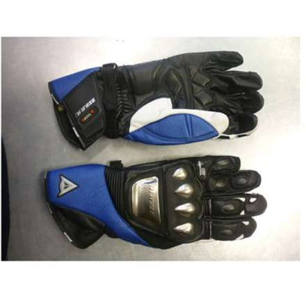 Speed Metal Leather Gloves Dainese