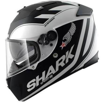Speed-R Avenger Matt Helmet Shark