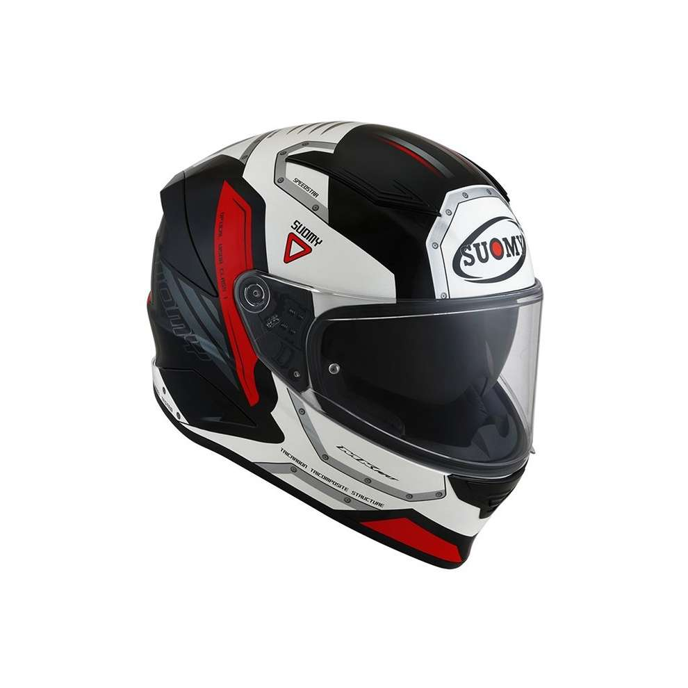 Speedstar Airplane Helmet White / Red / Black Suomy