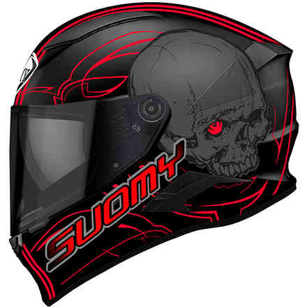 Speedstar Amlet Red Helmet Suomy