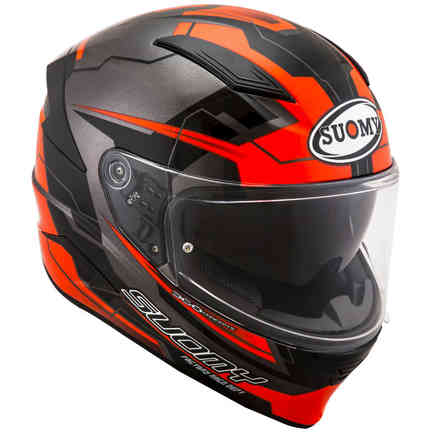Speedstar Camshaft helmet orange grey Suomy