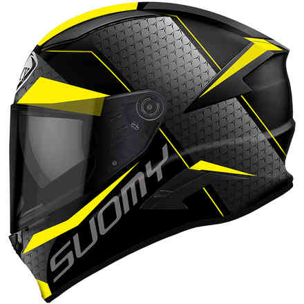 Speedstar Rap Yellow Helmet Suomy