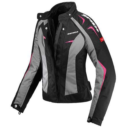 Sport Lady H2Out Jacket black-fuchsia Spidi