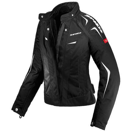 Sport Lady H2Out Jacket black-white Spidi