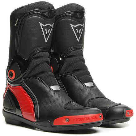 Sport Master Gtx Boots Black/Lava-Red Dainese