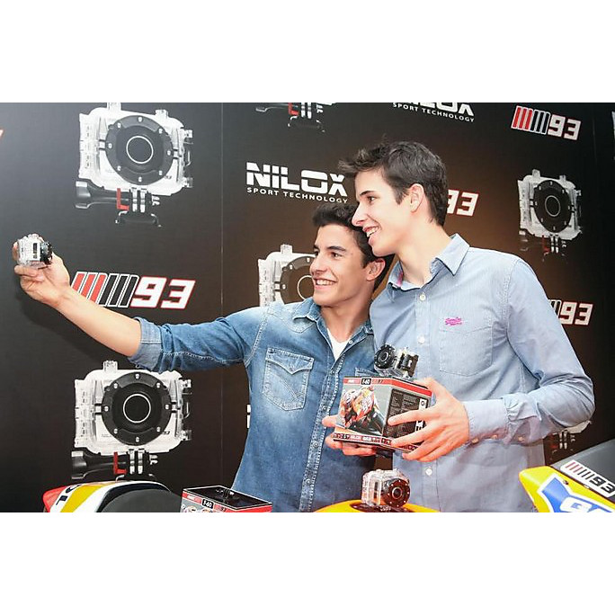 Sports Camera F60 MM93 Marc Marquez Nilox