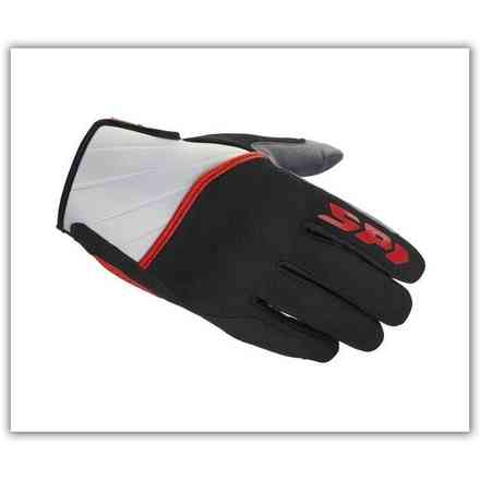 Squared Black Red Gloves Spidi