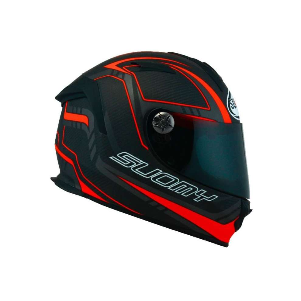 SR Sport  Carbon red matt Helmet Suomy