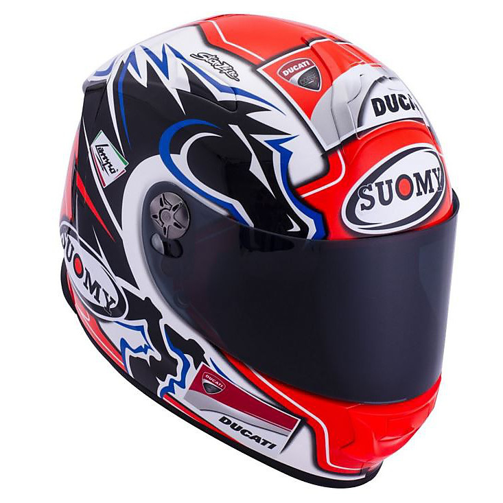 SR Sport New Dovi Replica blue Helmet Suomy