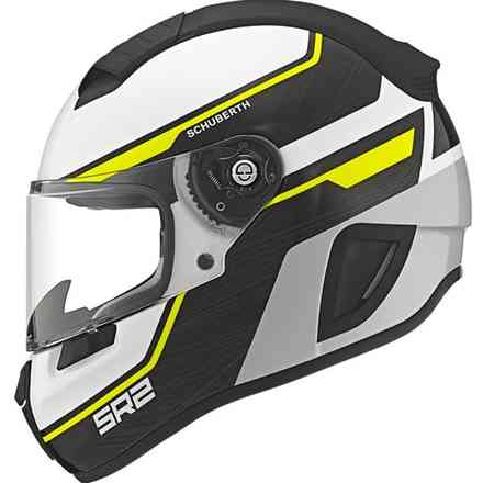Sr2 Lightning yellow Helmet Schuberth