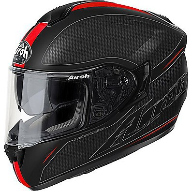 ST 701 Slash Helmet red matt Airoh