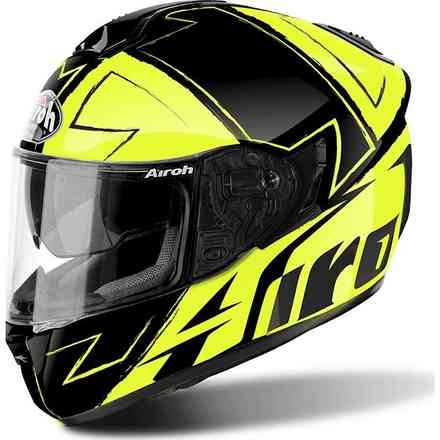 ST 701 Way yellow Helmet Airoh