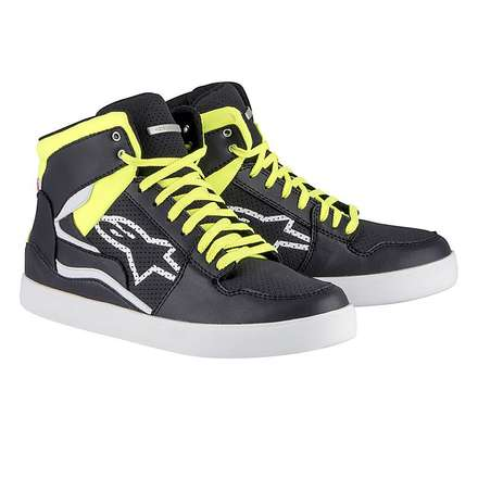 Stadium shoes black-yellow Alpinestars