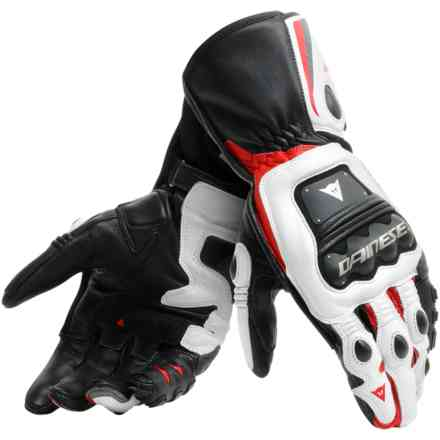 Steel-Pro gloves black white red Dainese