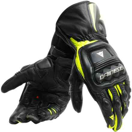 Steel-Pro gloves black yellow fluo Dainese