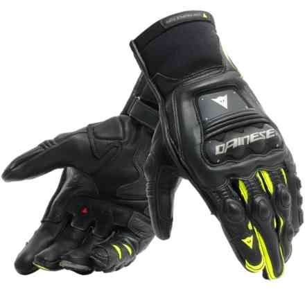 Steel-Pro In gloves black yellow fluo Dainese