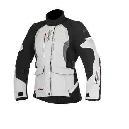 Stella Andes V2 Drystar light gray black Alpinestars