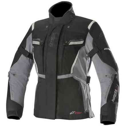 Stella Bogota' V2 Drystar jacket black dark grey Alpinestars