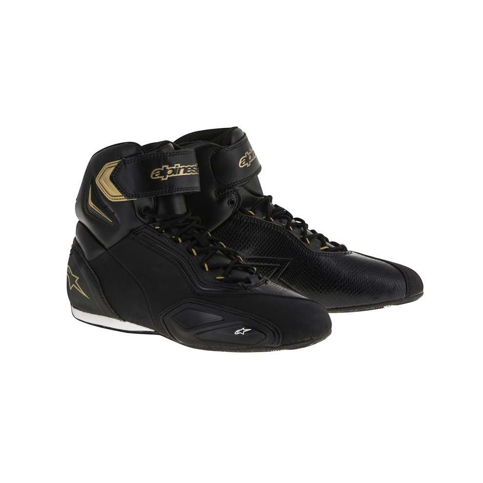 Stella Faster 2 black-gold Shoe Alpinestars
