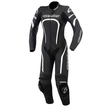 Stella Motegi 2015 Woman Suit black-white Alpinestars