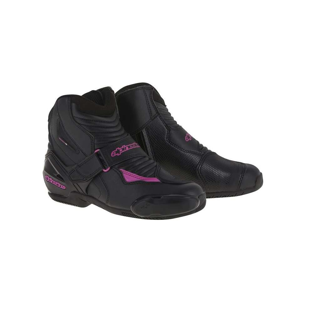 Stella Smx-1 R woman black-fuchsia Shoes Alpinestars