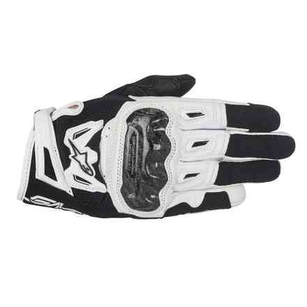 Stella Smx-2 Air Carbon V2 lady Gloves black white Alpinestars