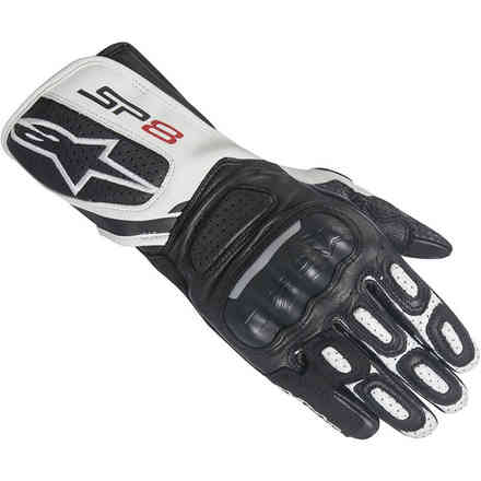 Stella Sp-8 V2 black white lady Gloves Alpinestars