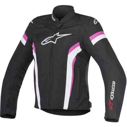 Stella T-Gp Plus R V2 black white fuchsia Jacket Alpinestars