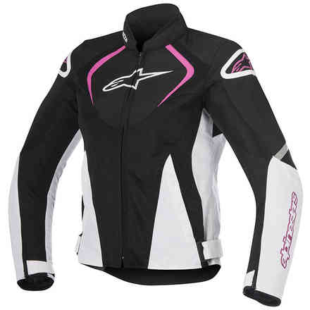 Stella T-Jaws V2 Air black white fuchsia Jacket Alpinestars