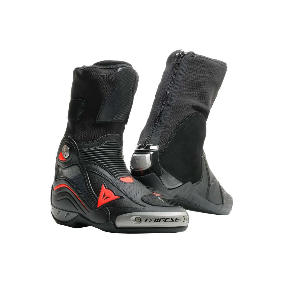 Stiefel Axial D1 Air Schwarz Rot fluo Dainese