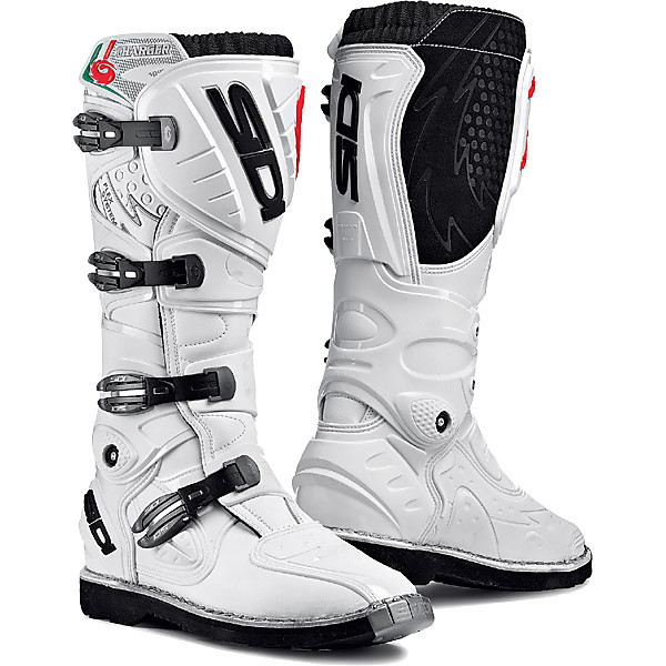 Stiefel Charger Weis Sidi