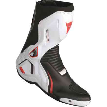 Stiefel Course D1 out Schwarz Weiss Rot Dainese