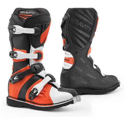 Stiefel Gravity Schwarz Orange Forma